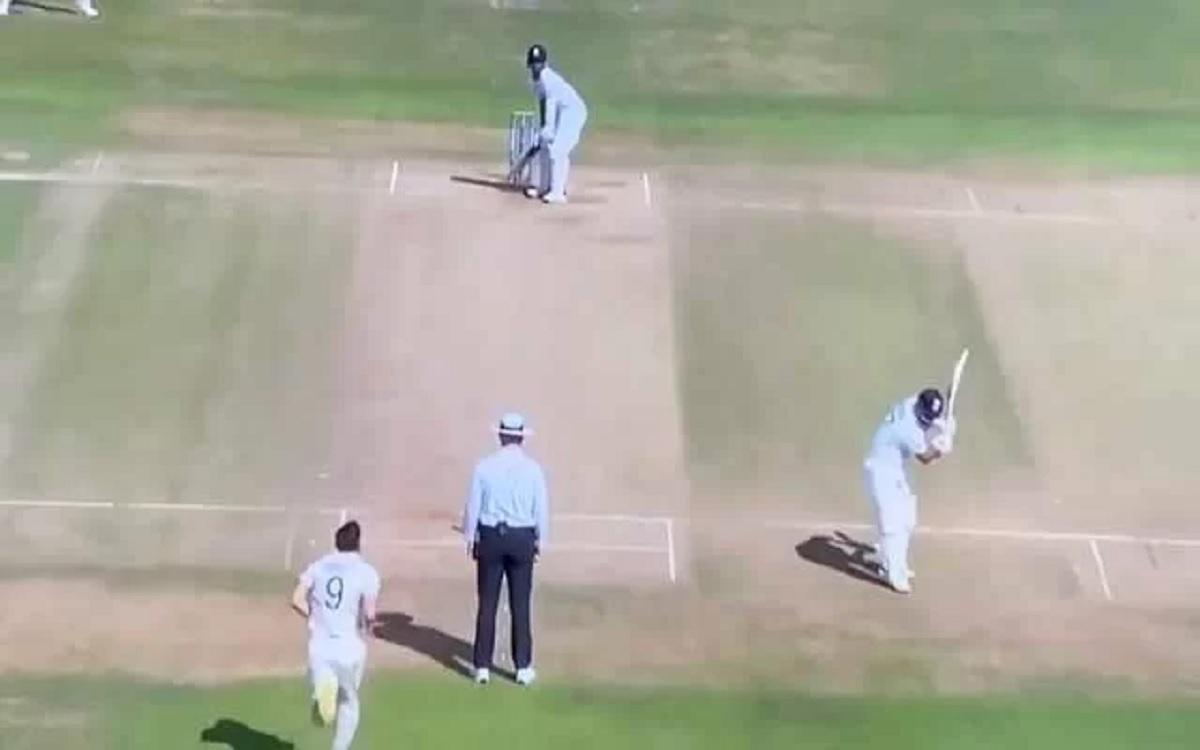Cricket Image for VIDEO: जेम्स एंडरसन गेंद डालने के लिए दौड़े, लेकिन ऋषभ पंत मजे में करते रहे शैडो ब
