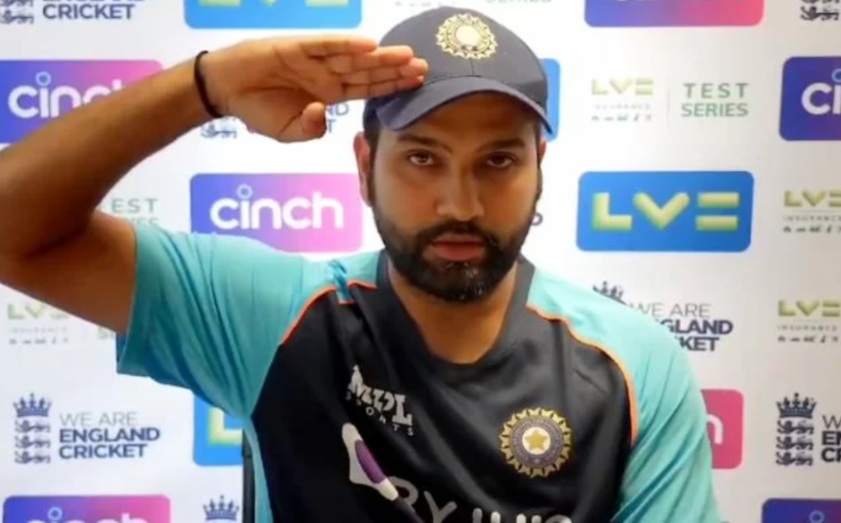 Cricket Image for England Vs India Rohit Sharma Response To The Independence Day Question Watch Vide