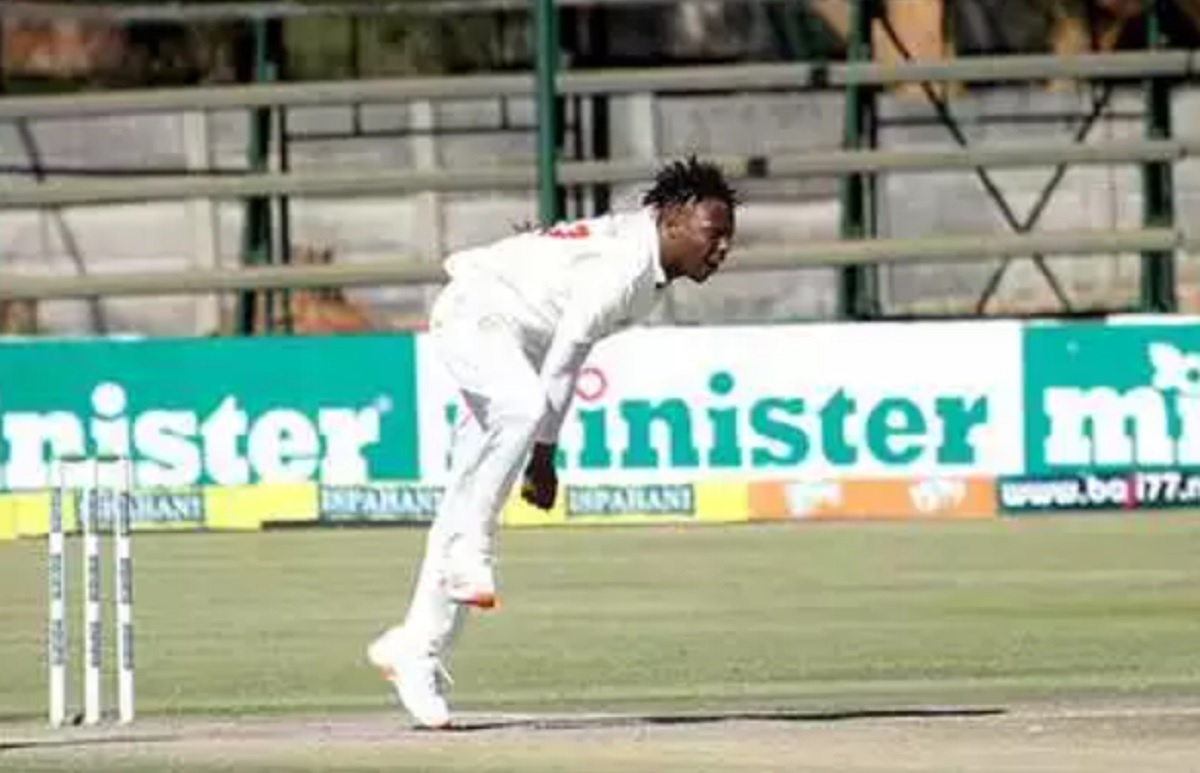 Zimbabwe Spinner Roy Kaia suspended from bowling for illegal action