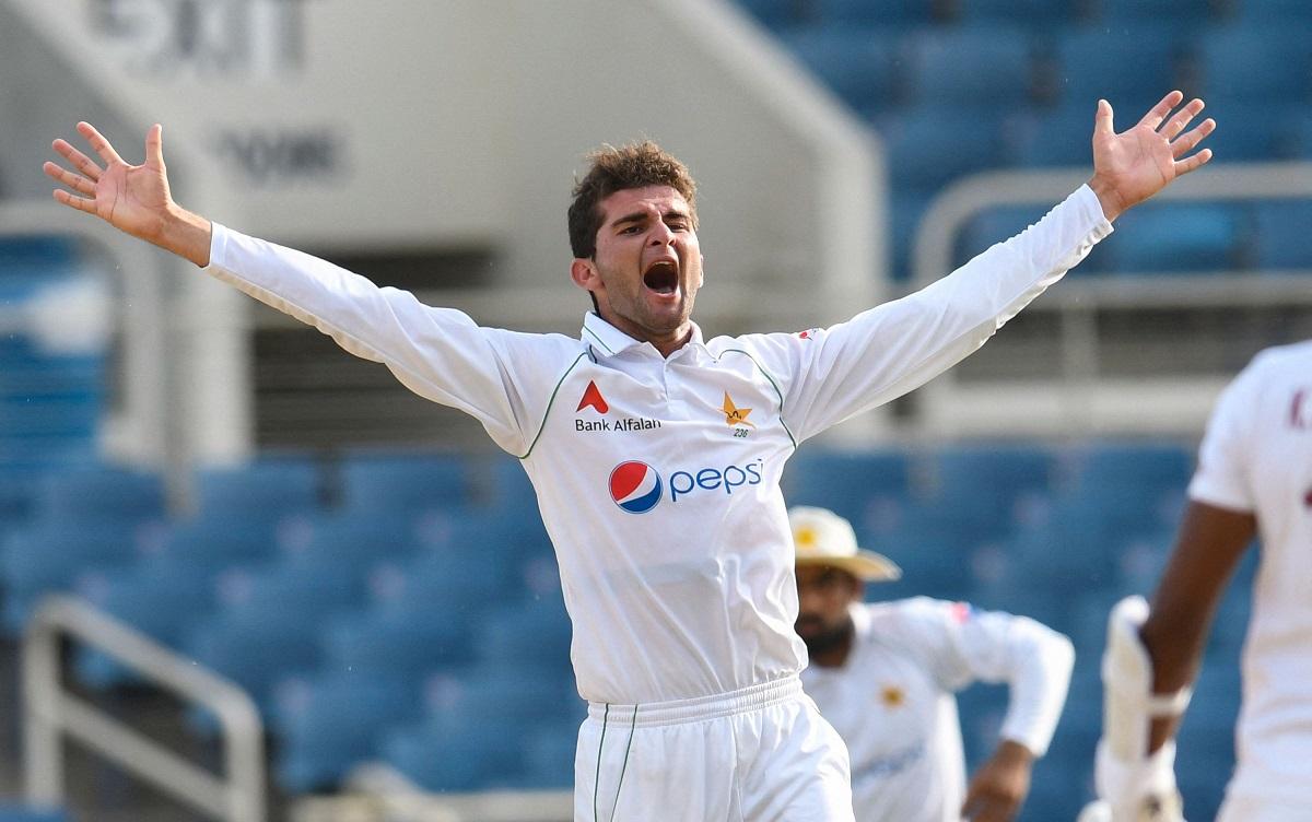 Shaheen Afridi equals Wasim Akram's in second test against West Indies