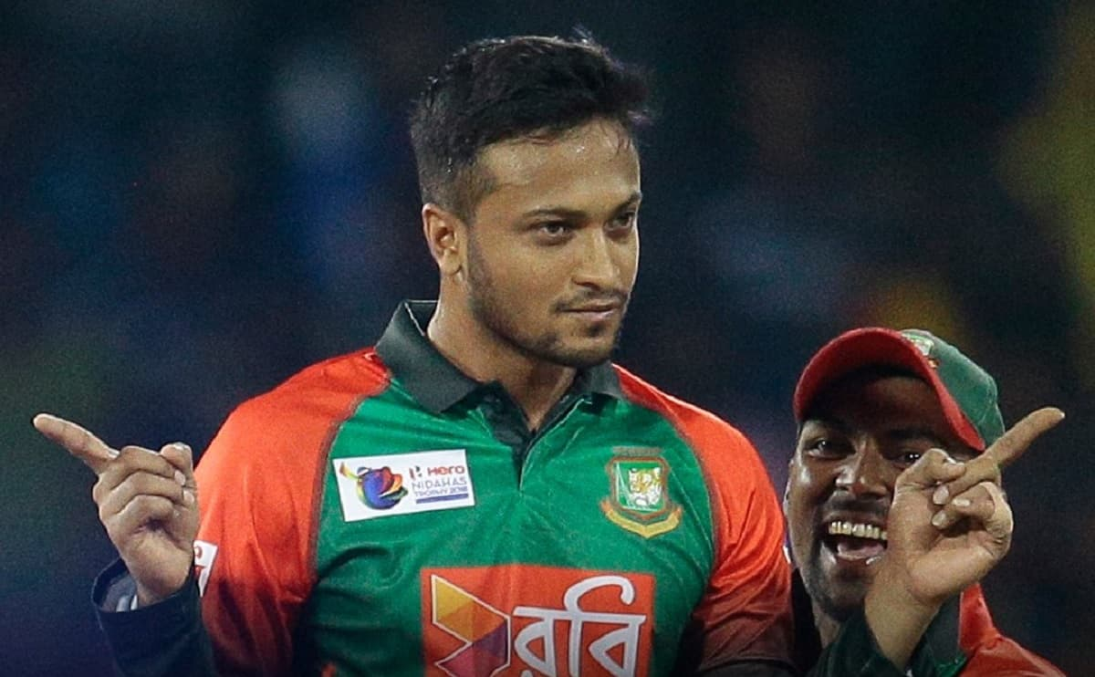 Shakib Al Hasan is the first player to 1000+ runs and 100+ wickets in men's T20Is
