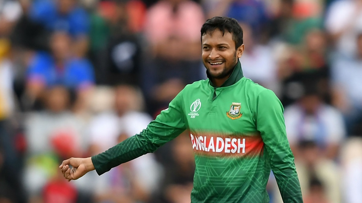 Shakib Al Hasan expressed his happiness after beating Australia