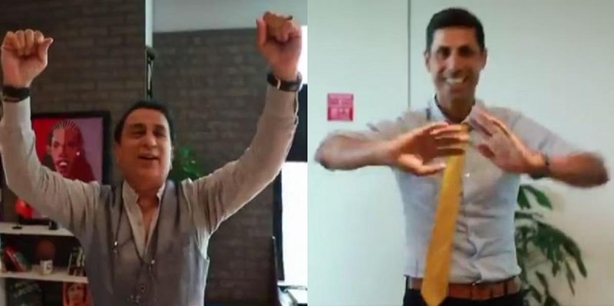 Sunil Gavaskar sings 'Mere Desh Ki Dharti', Ashish Nehra dances after Neeraj Chopra wins gold at Tok