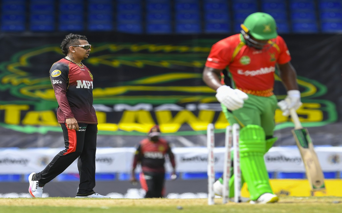 Sunil Narine In CPL Images