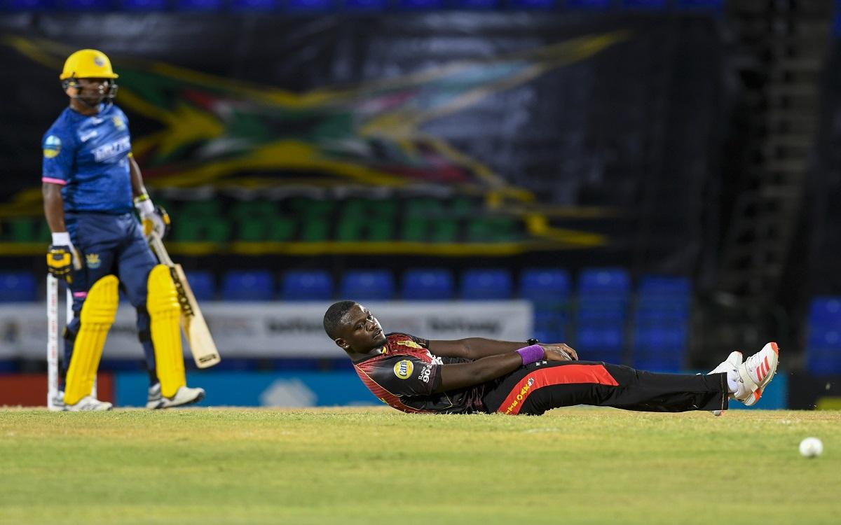 Trinbago Knight Riders Vs Barbados Royals Images