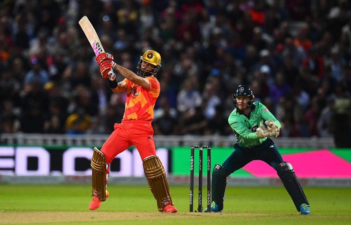 Cricket Image for VIDEO: 'द हंड्रेड' में मैदान पर आया मोईन अली का तूफान, लगातार 3 छक्के जड़कर बांधा