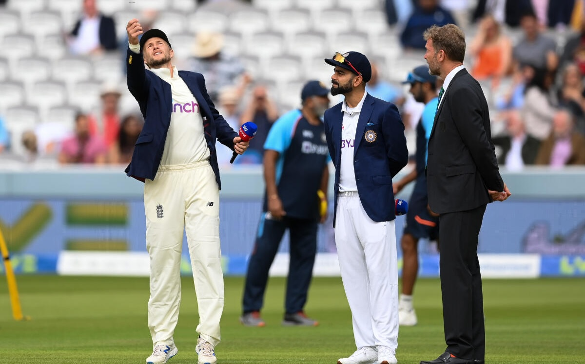 India won the toss and elected to bat first against england in third test