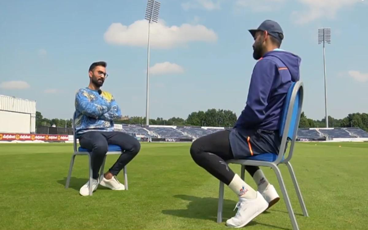 Cricket Image for Virat Kohli And Dinesh Karthik Talks About England Vs India Test Series