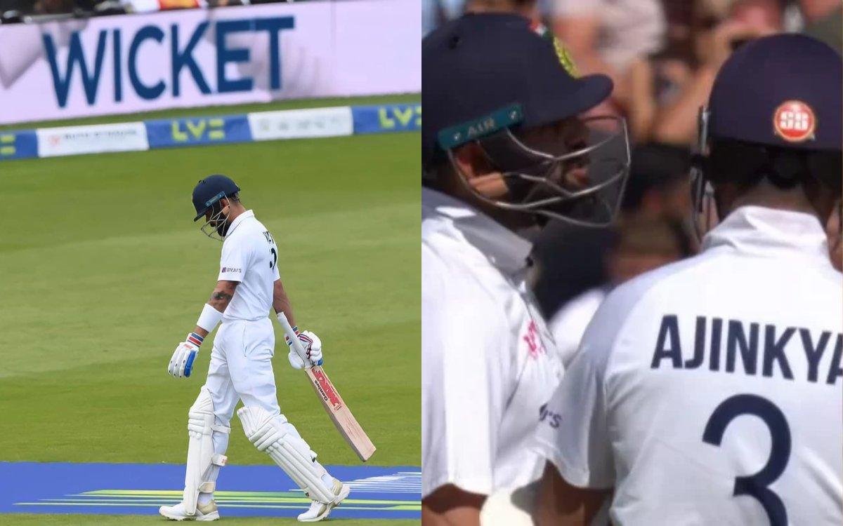 Cricket Image for VIDEO: 'रहाणे ने दी थी DRS लेने की सलाह', पवेलियन जाते विराट को बुलाया था वापिस