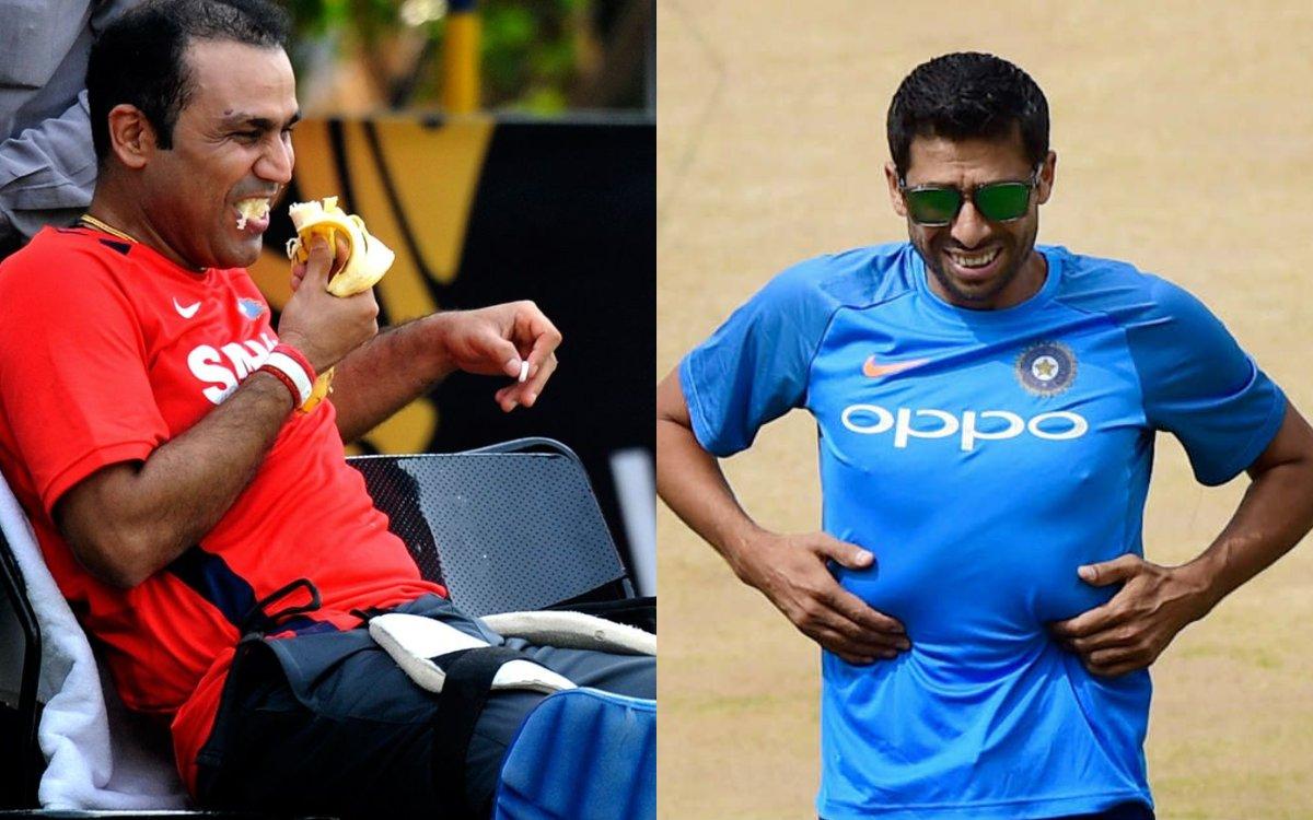 Cricket Image for VIDEO: 'नेहरा को बिल्कुल नहीं था फैशन सेन्स', सहवाग ने उठाया ड्रेसिंग रूम के राज़