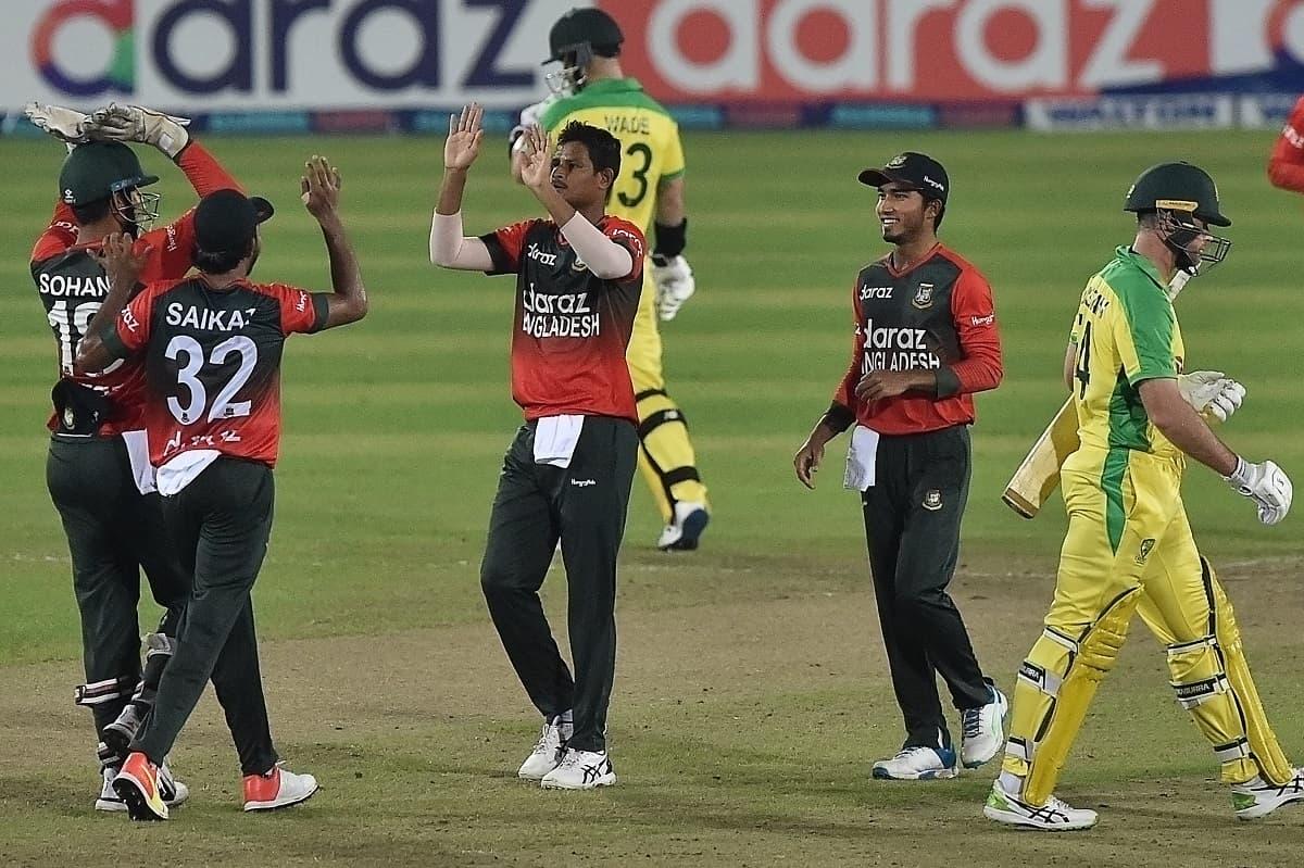 Cricket Image for 5th T20I: 9 बल्लेबाज नहीं छू पाए दहाई का आंकड़ा,बांग्लादेश से 60 रनों से हराकर ऑस्