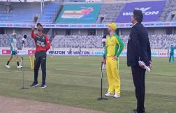 BAN v AUS, 1st T20I: Australia Opts Bowl Against Bangladesh