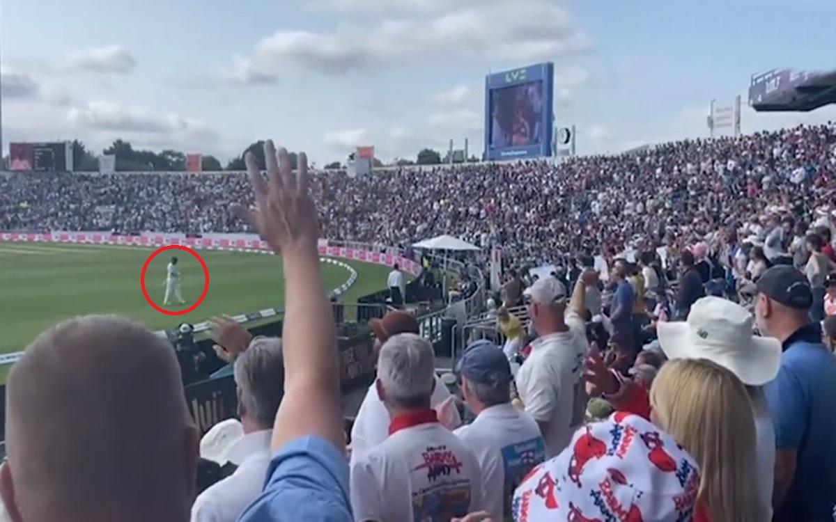 Cricket Image for India Vs England 3rd Test Barmy Army Trolls Virat Kohli Watch Video