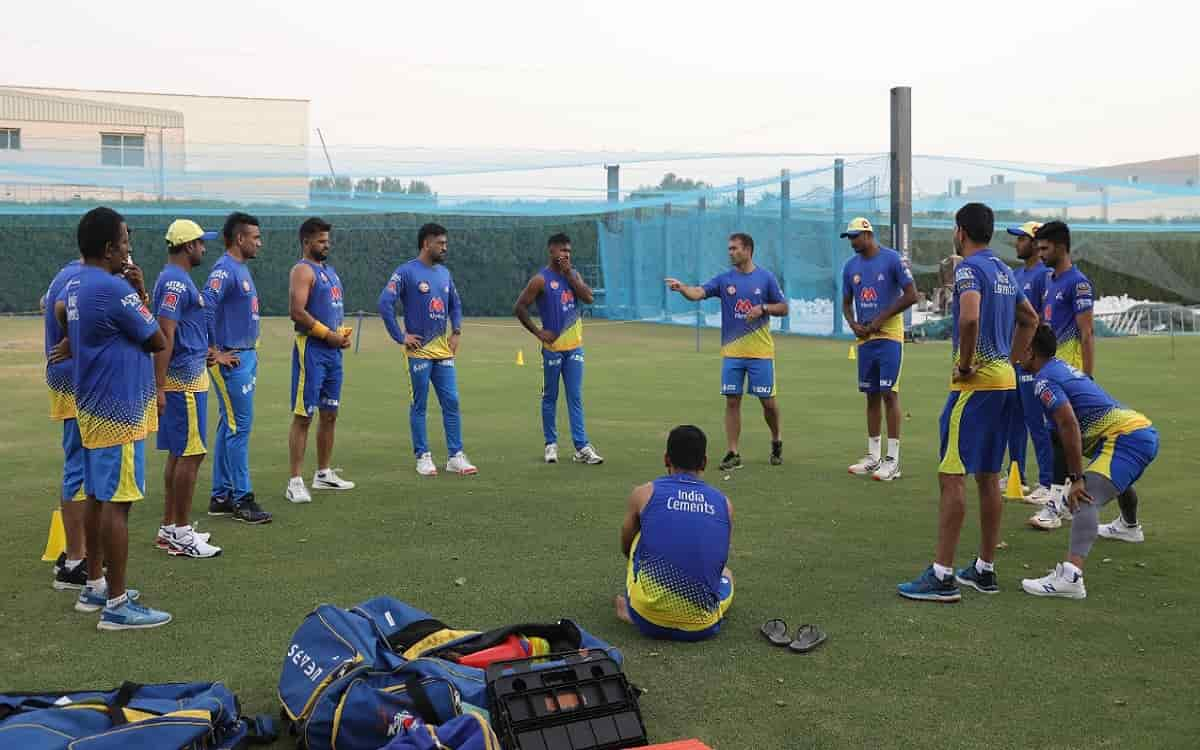 Chennai Super Kings ready for remaining matches of IPL 2021 while training begins in Dubai