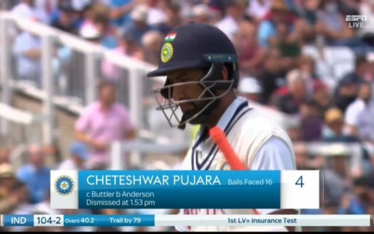 Cricket Image for 'BCCI पुजारा को बाहर करो', पुजारा के फ्लॉप शो पर फैंस का फूटा गुस्सा