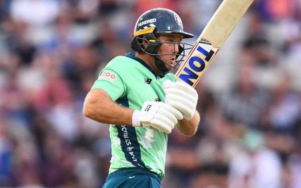 Cricket Image for THE HUNDRED : 36 साल की उम्र में दिखाया जलवा, 4 छक्कों समेत ठोक डाले 43 गेंदों में