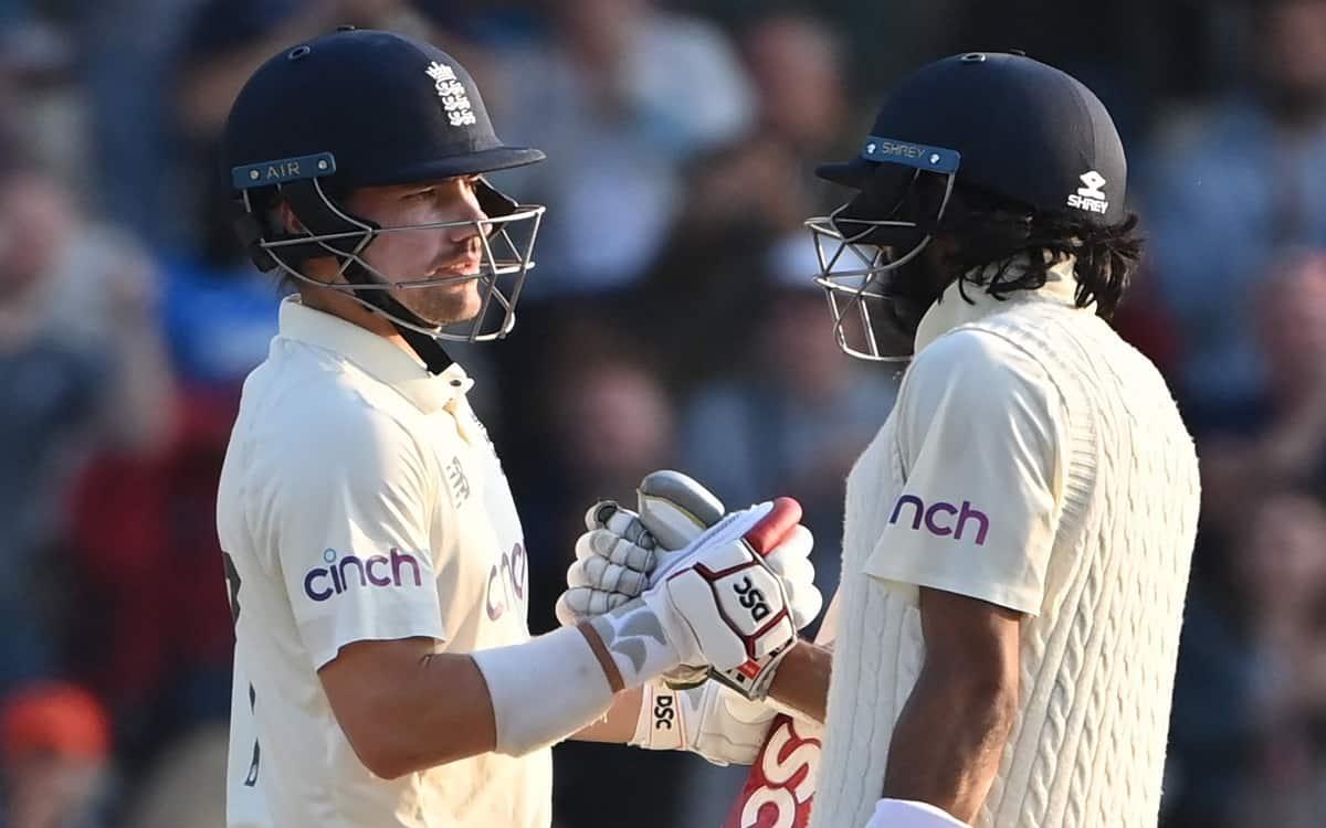 Cricket Image for ENG vs IND: इंग्लैंड के नाम रहा पहले दिन का खेल, भारत को ऑलआउट कर स्टंप्स तक बनाए