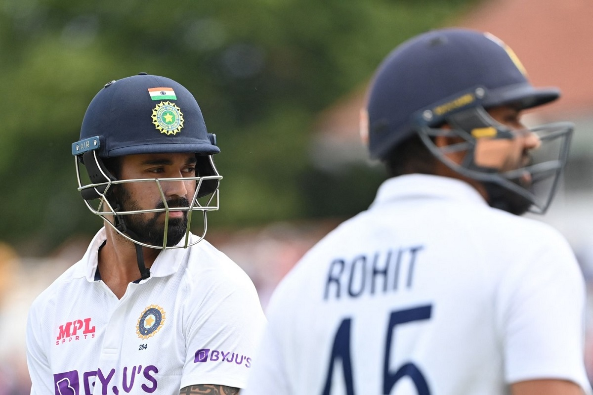 Cricket Image for ENG v IND, 1st Test: England Strike Late After Rohit-Rahul Put On 97 In 1st Sessio