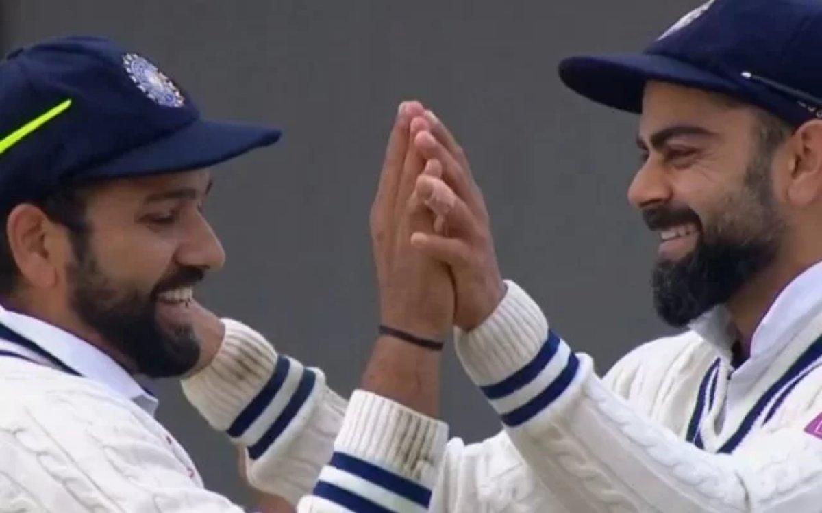 Cricket Image for विराट और रोहित के बीच दरार की खबरें उड़ाने वाले हो रहे हैं ट्रोल