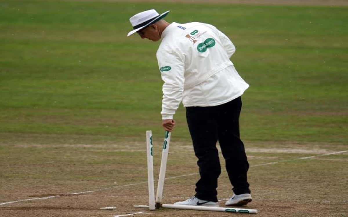 Former England bowler alex Wharf made his Test debut as on-field umpire in india vs england match