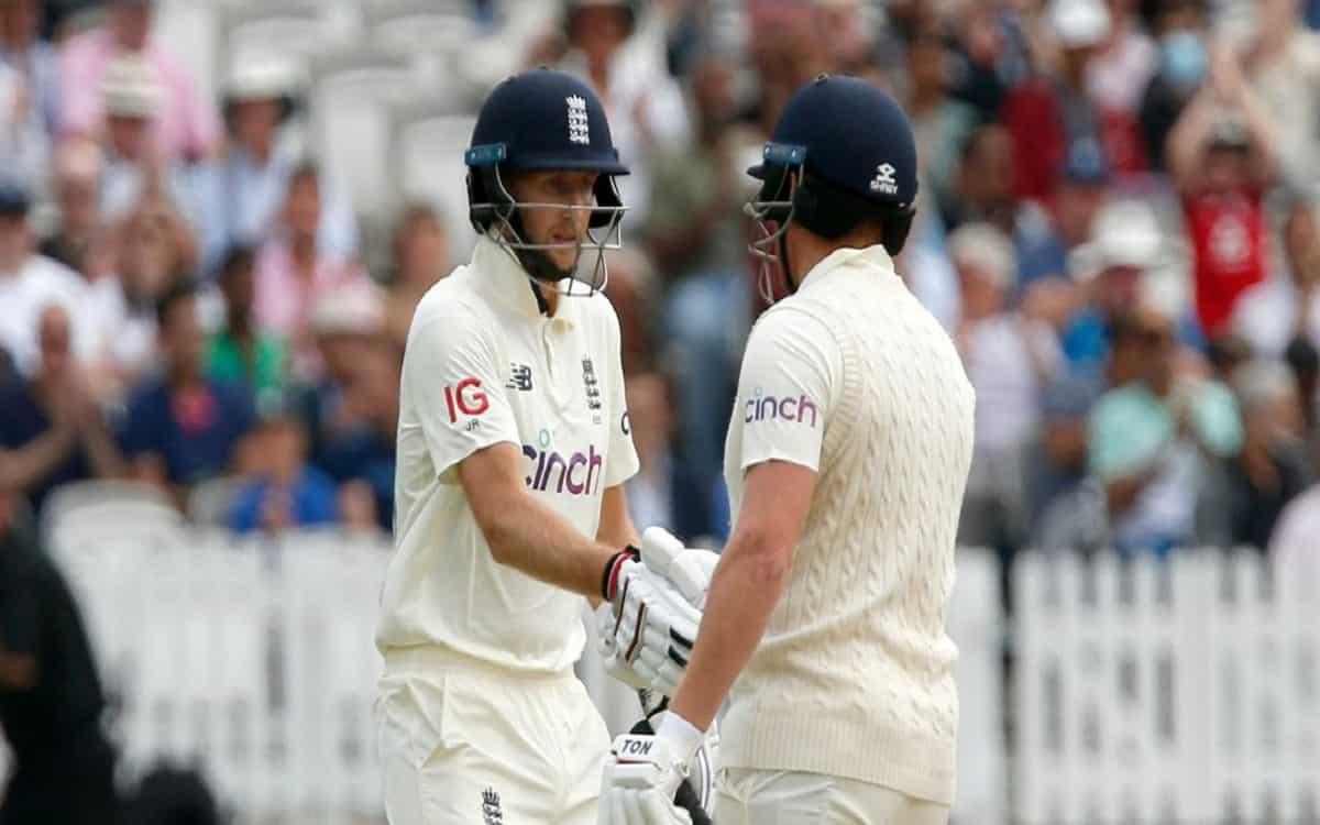Cricket Image for ENG vs IND: रूट-बेयरस्टो की जोड़ी ने किया भारतीय गेंदबाजों को परेशान, लंच तक इंग्ल