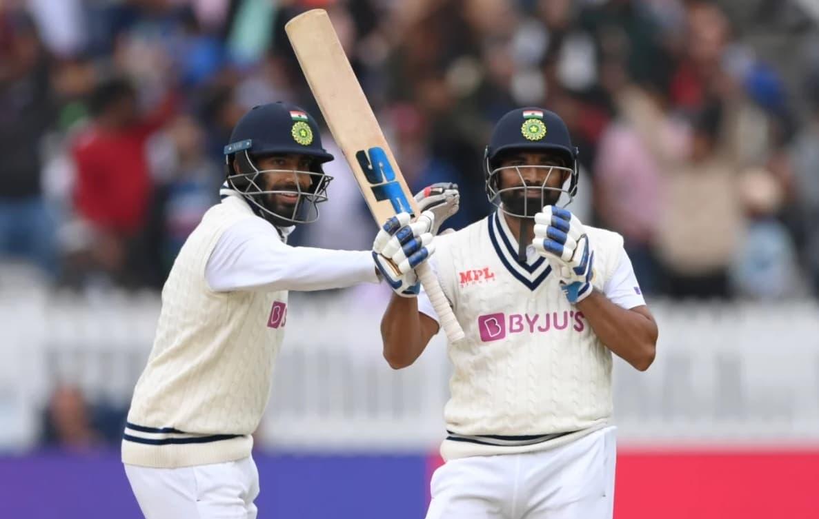 Cricket Image for  ENG vs IND: बुमराह-शमी की जोड़ी ने किया अंग्रेज गेंदबाजों को परेशान, लंच तक भारत