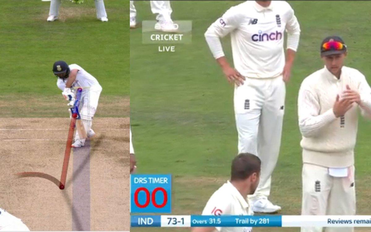 Cricket Image for ENG vs IND : घबराए जो रूट ने कर दी थी इतनी देर, हिटमैन को मिल गया था जीवनदान