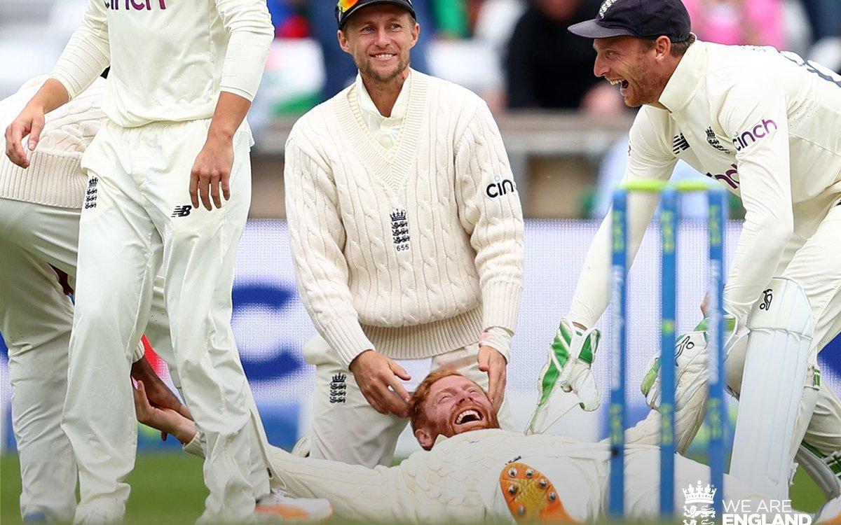 Cricket Image for VIDEO: 'ये कैच नहीं बेयरस्टो ने मैच पकड़ा है', करिश्माई कैच और राहुल का काम तमाम
