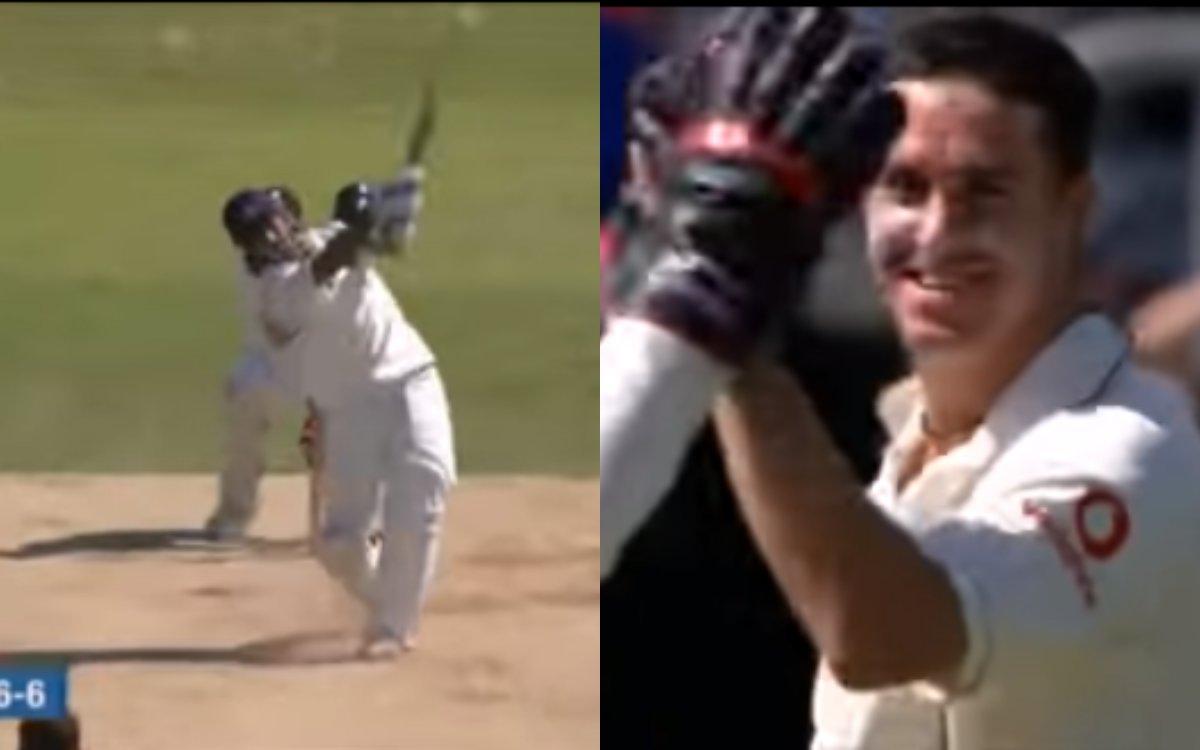 Cricket Image for VIDEO : पीटरसन को याद आए धोनी के लंबे-लंबे छक्के, आखिरकार कर ही दिया था आउट