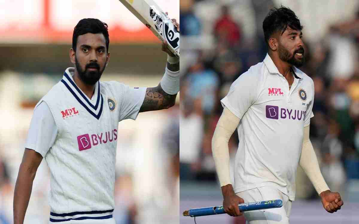 Cricket Image for  ICC ने जारी की ताजा टेस्ट रैंकिंग, केएल राहुल और मोहम्मद सिराज ने लगाई लंबी छलांग