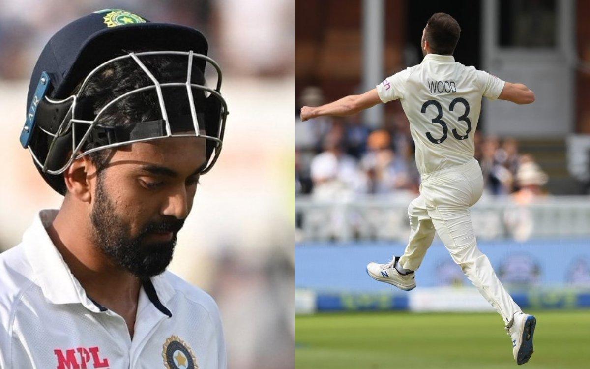 Cricket Image for VIDEO : राहुल को नहीं दिखी 151 kmph की गेंद, मार्क वुड ने किया भारतीय शतकवीर का शि