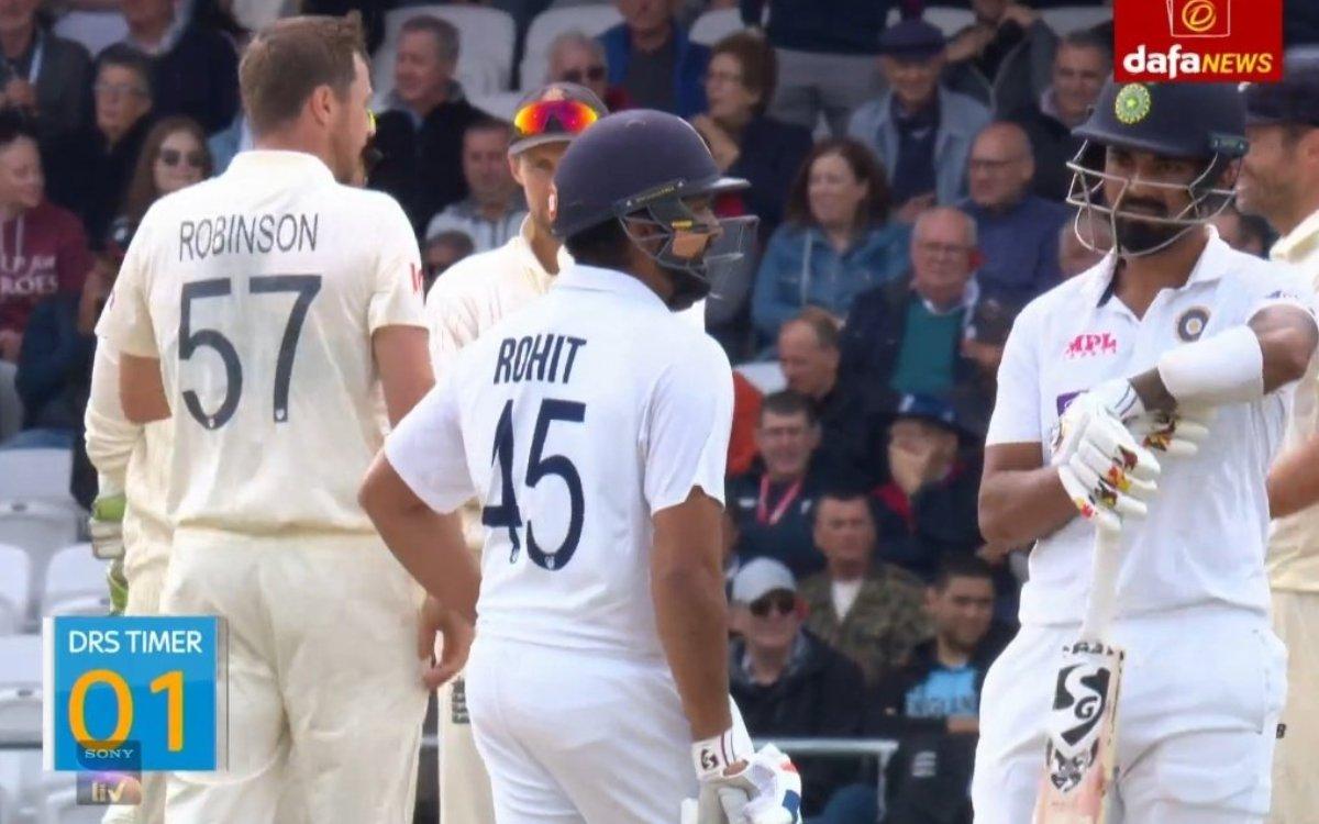 Cricket Image for VIDEO : 1 सेकिंड की कीमत केएल राहुल से पूछिए, रोहित की सलाह ने बचाई ज़ान