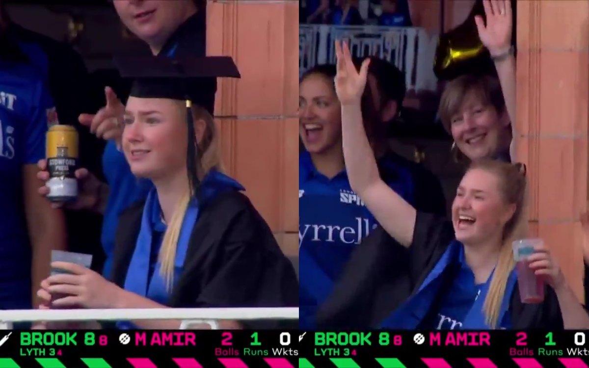 Cricket Image for VIDEO : लाइव मैच में मनाया अपनी 'ग्रेजुएशन' का जश्न, लॉर्ड्स की बालकनी में दिखा अन