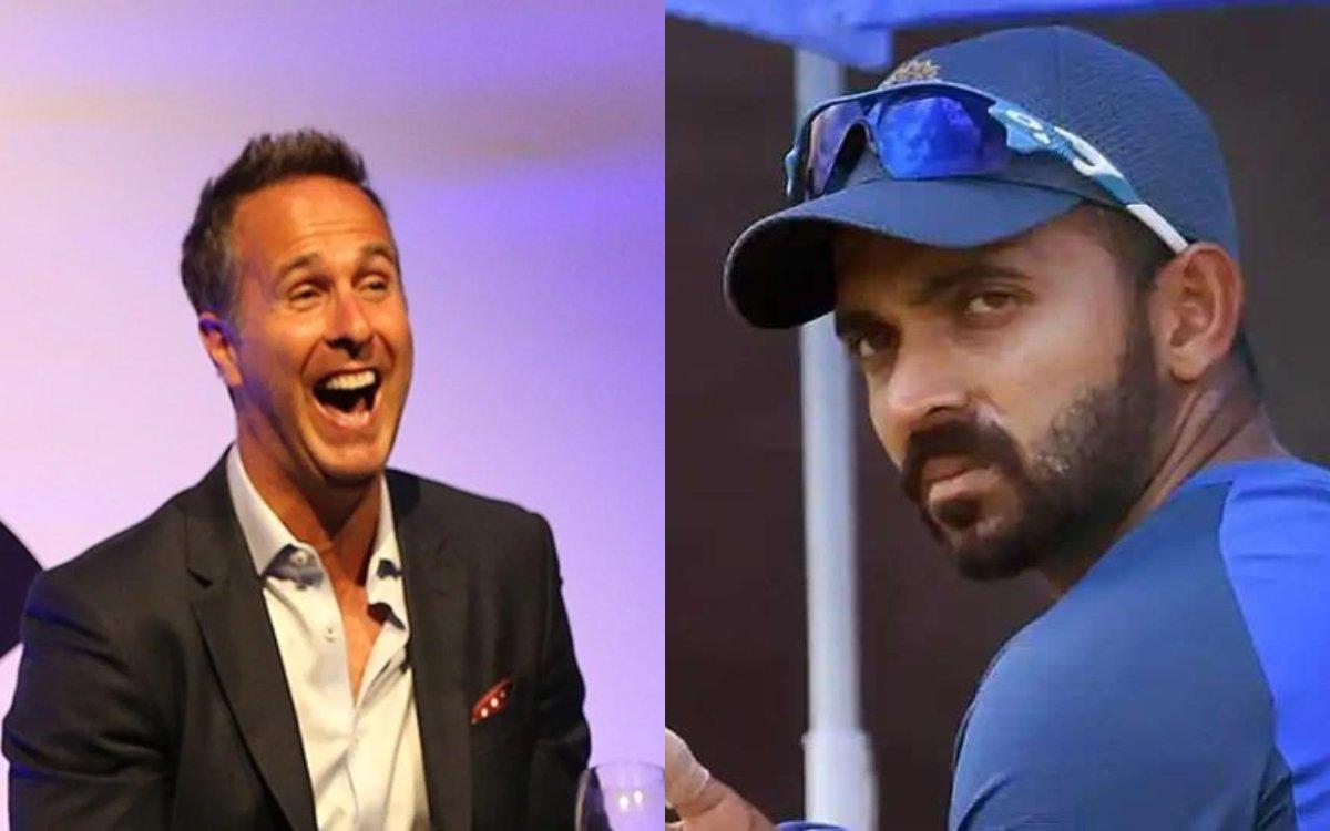 Cricket Image for रहाणे को लेकर वॉन ने दिया विवादित बयान, कहा- 'रहाणे एक बड़ा 'Issue' है'