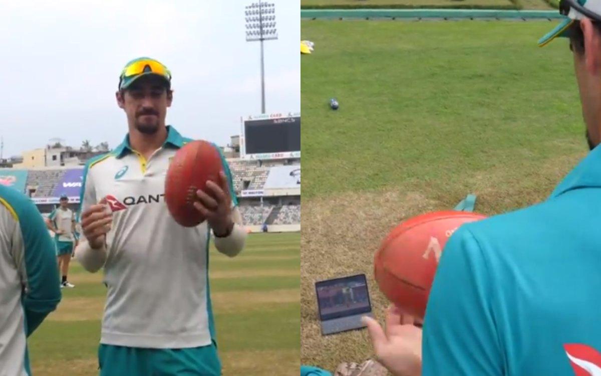 Cricket Image for VIDEO : 'खेल भाई रहा था लेकिन नर्वस स्टार्क हो रहे थे', ब्रैंडन स्टार्क को पूरी कं