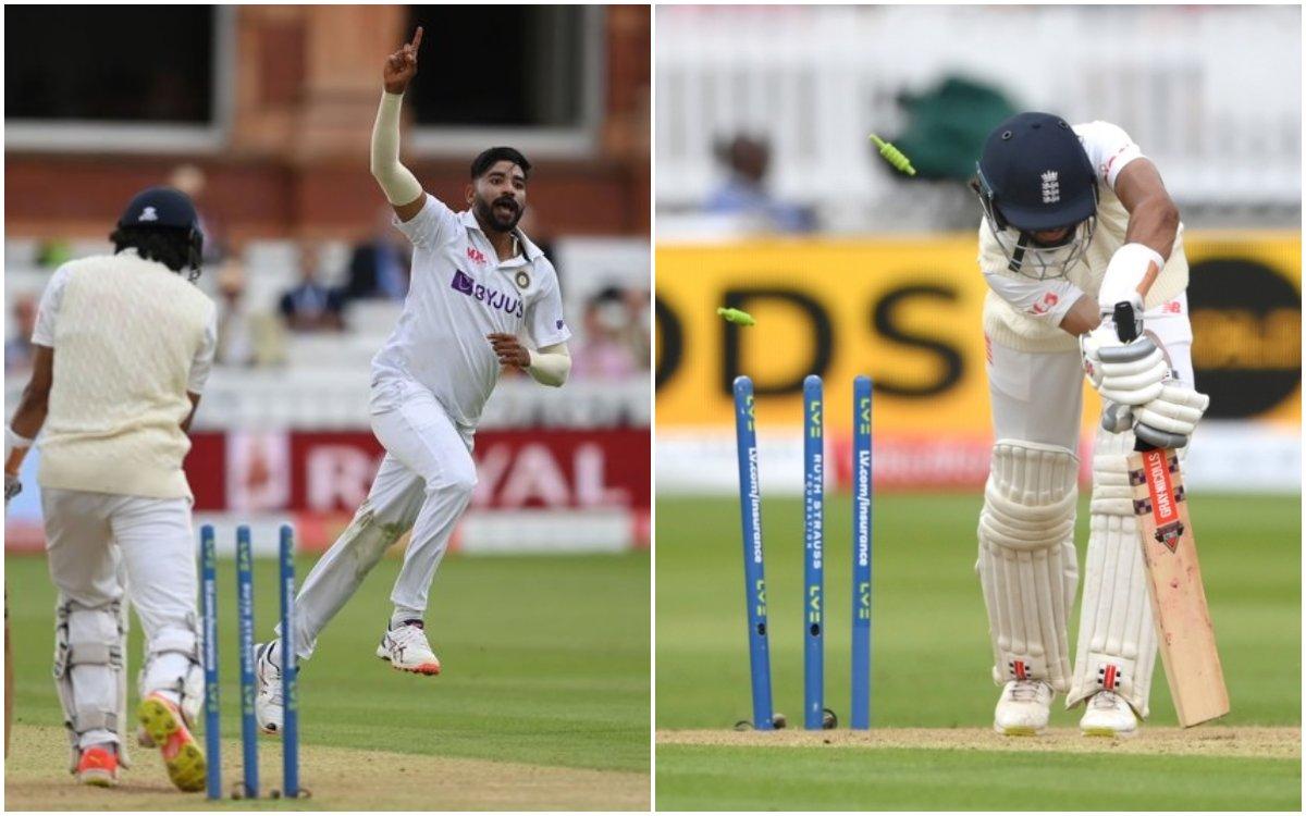 Cricket Image for VIDEO : सिराज की 2 गेंदों ने बदल दिया मैच, हासिब हमीद को तो पता भी नहीं चली गेंद