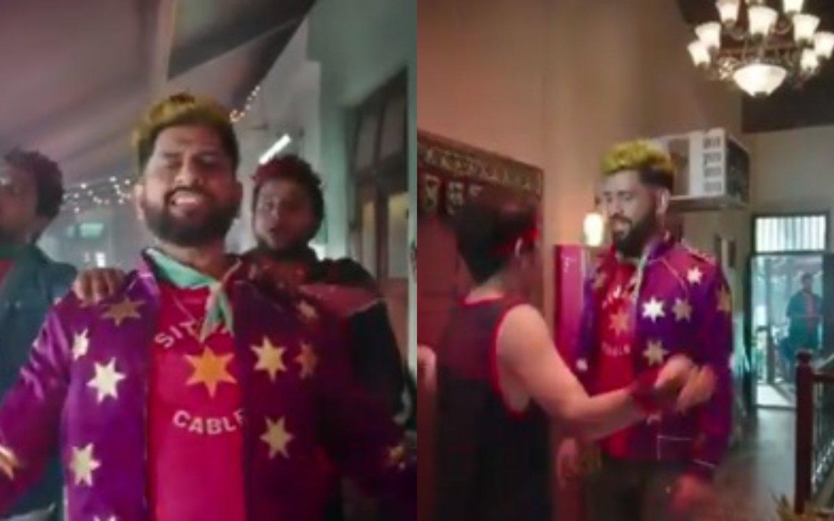 Cricket Image for VIDEO : ख़त्म हुआ इंतज़ार, आ गया माही के रॉकस्टार वाले अवतार का वीडियो