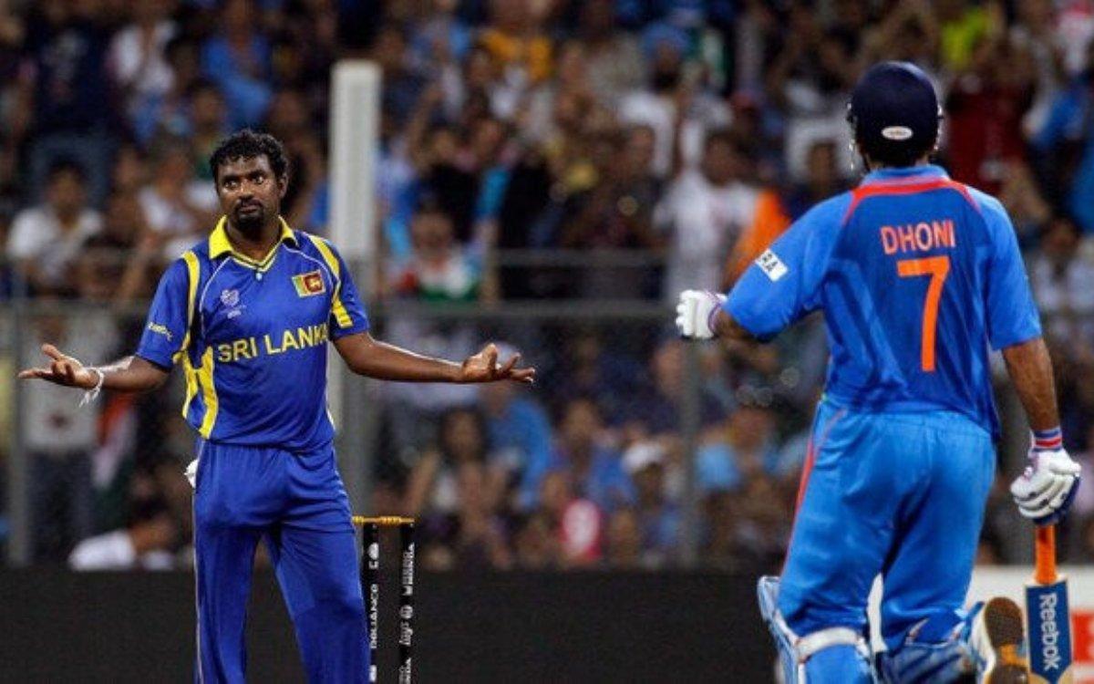 Cricket Image for 'वर्ल्ड कप 2011 फाइनल में मेरी वजह से धोनी नंबर 5 पर आया था', मुरलीधरन का एक और बड