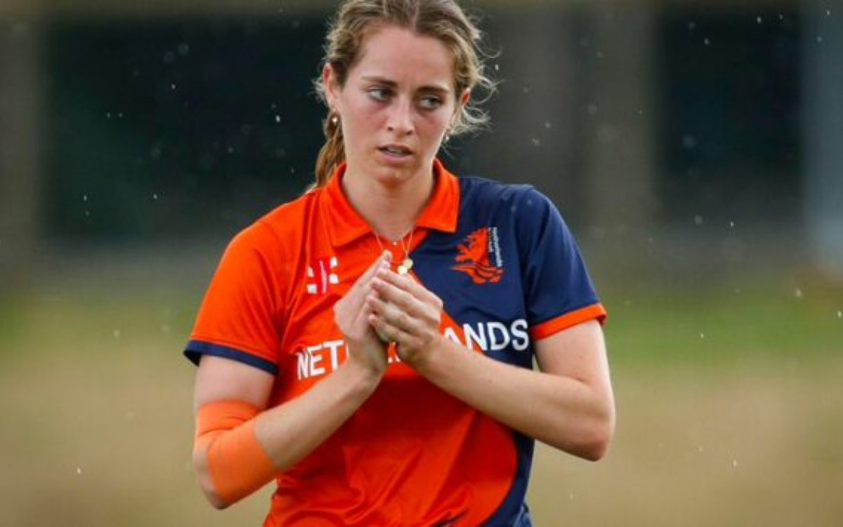 Cricket Image for 4 ओवर 2 मेडन, 3 रन देकर 7 विकेट, नीदरलैंड की 21 साल की खिलाड़ी ने बना दिया वर्ल्ड