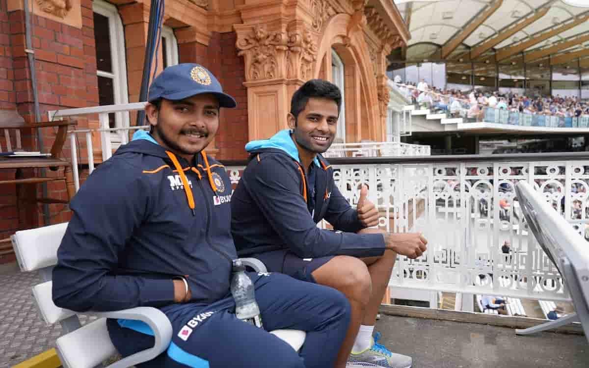 Cricket Image for ENG vs IND: क्वारंटीन पीरियड पूरा कर टीम से जुड़े शॉ और सूर्यकुमार, इस कंडीशन पर म