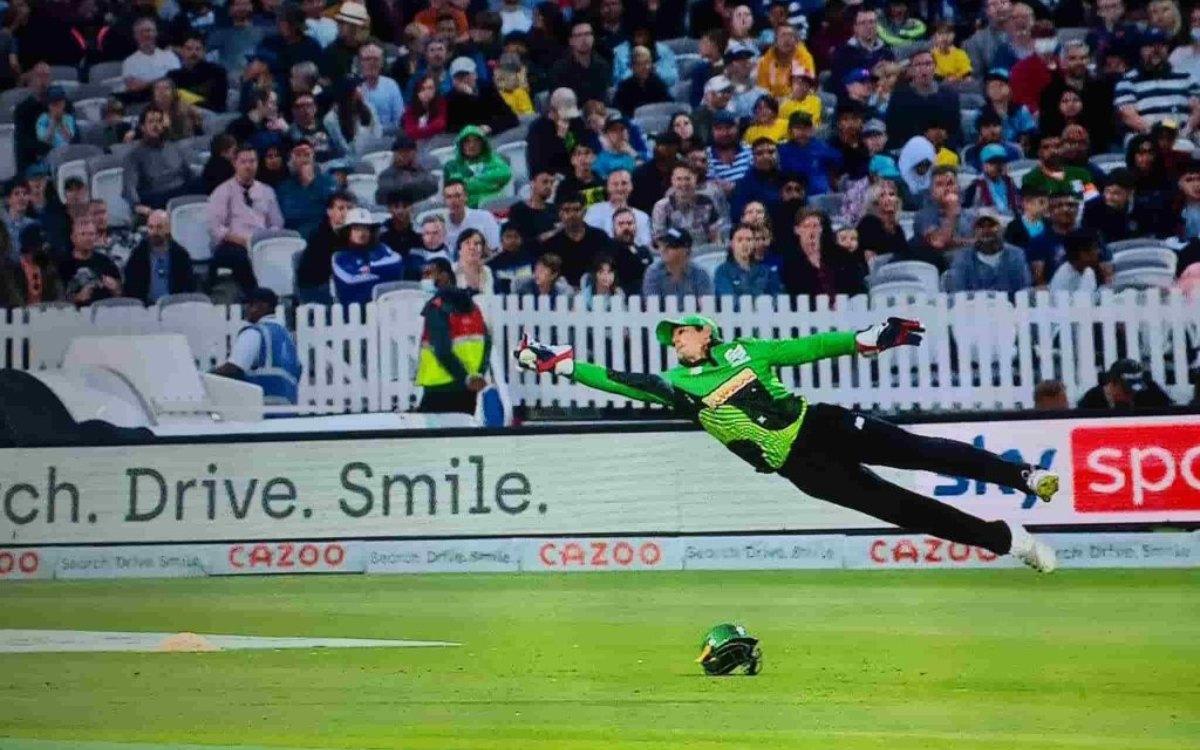 Cricket Image for VIDEO : 'डी कॉक का ये कैच नहीं देखा तो क्या देखा', वीडियो देखकर नहीं होगा आंखों पर