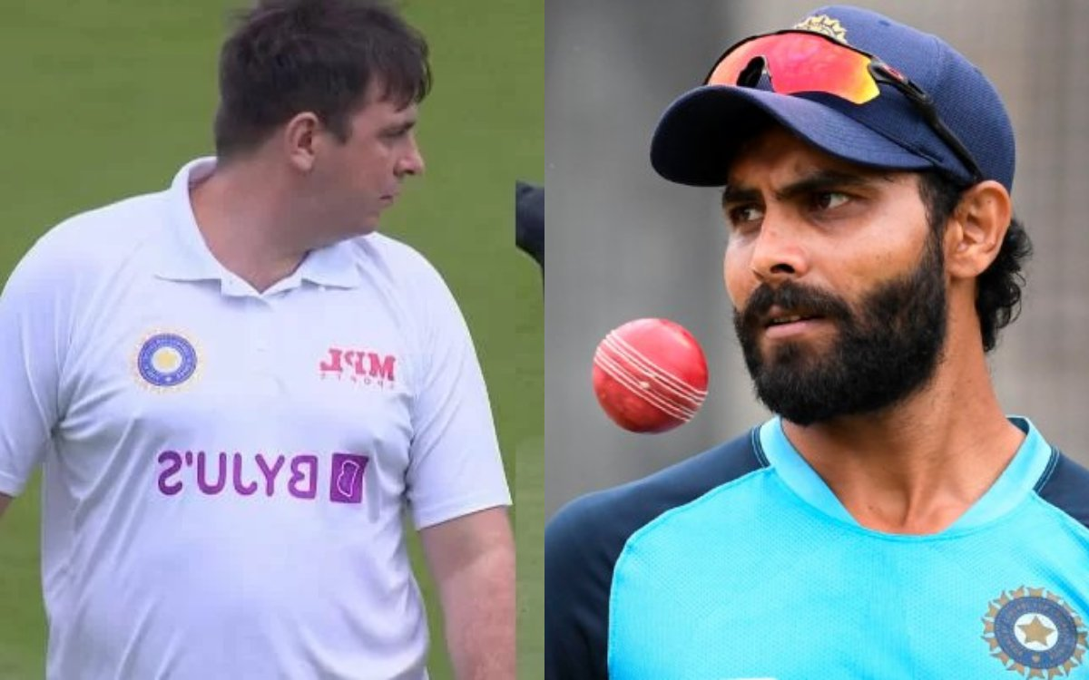 Cricket Image for 'Jarvo 69' ने मैच के बाद किया बड़ा खुलासा, कहा- 'जडेजा ने पूछा था कौन से एंड से बॉ