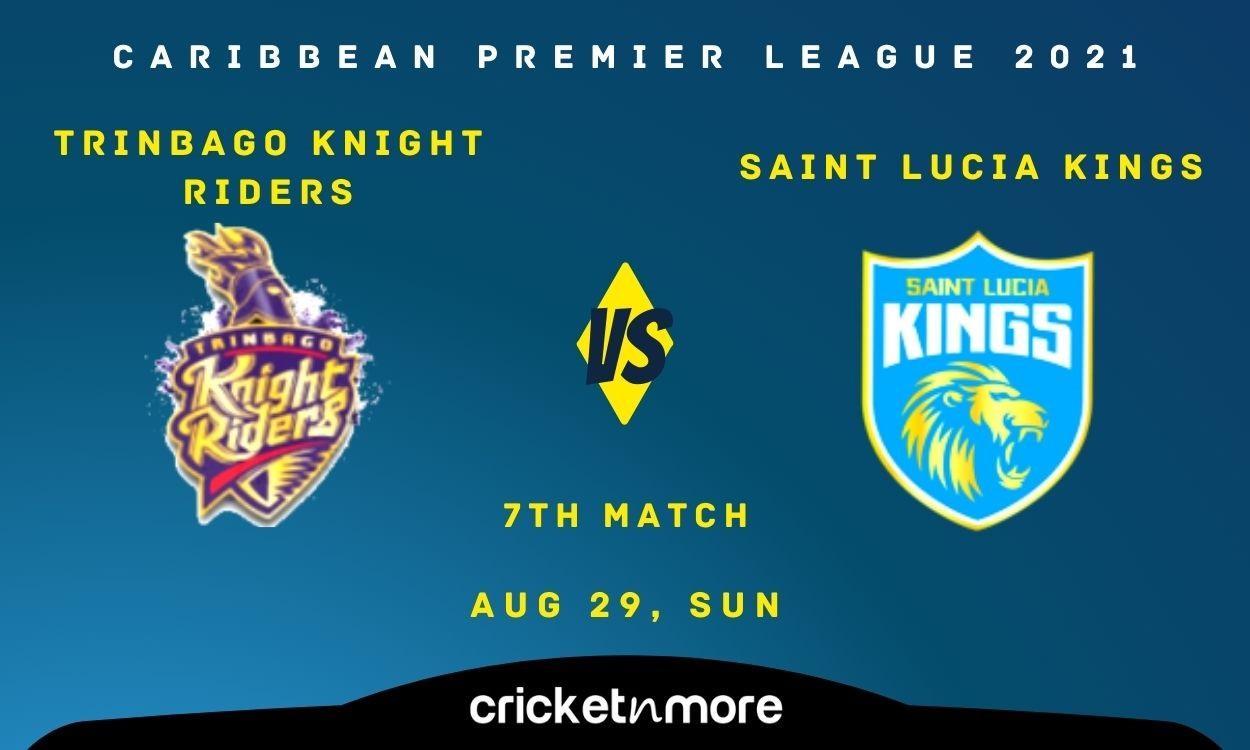 Cricket Image for Saint Lucia Kings vs Trinbago Knight Riders – Cricket Match Prediction, Fantasy XI