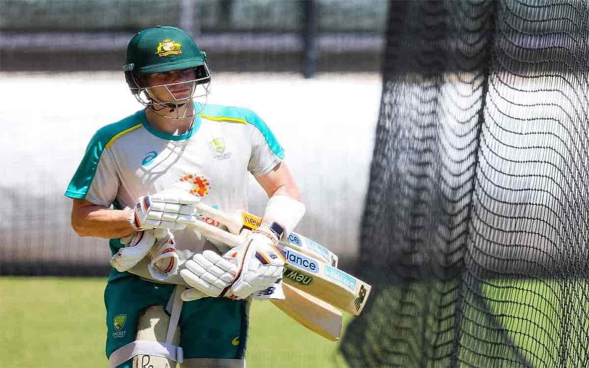 Cricket Image for चोट के बाद नेट्स पर बल्लेबाजी करने लौटे स्टीव स्मिथ, फिटनेस को लेकर आया बड़ा अपडेट