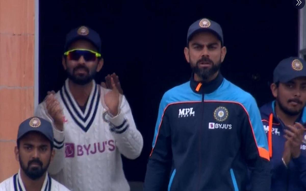 Cricket Image for Virat Kohli Fired Up After Jasprit Bumrah Hits Boundary Watch Video