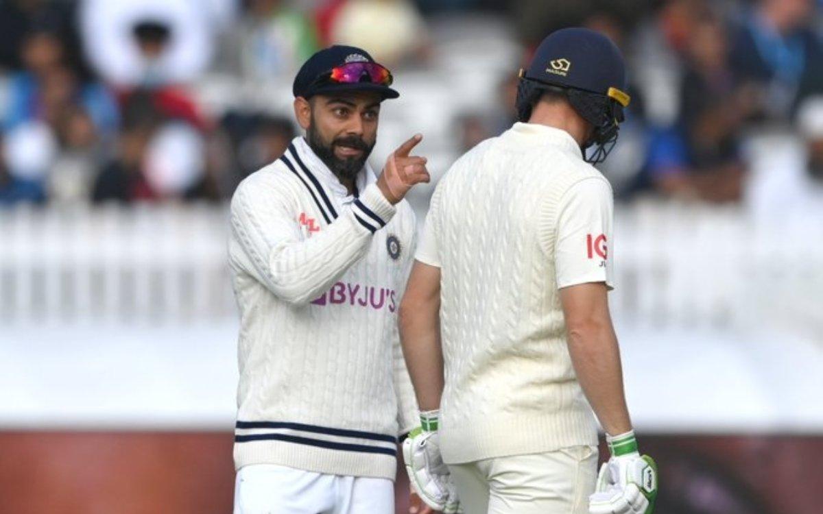 Cricket Image for VIDEO : ओली रॉबिंसन से भी भिड़ गए कोहली, जब क्रीज पर आया बल्लेबाज़ तो कुछ ऐसे किया