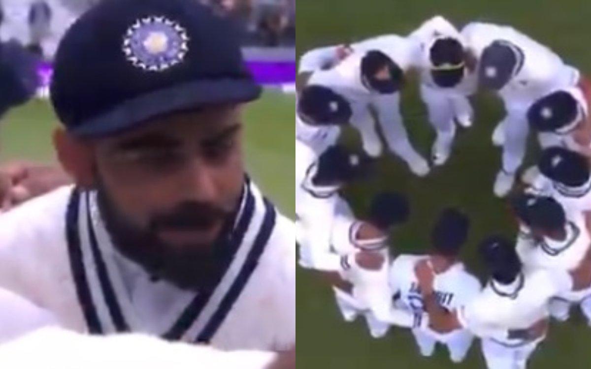 Cricket Image for विराट ने बोली वो लाइन जिसने खिलाड़ियों का खून गर्म कर दिया था, देखें वायरल VIDEO