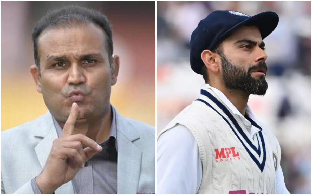 Cricket Image for सहवाग ने स्टूडेंट्स के बहाने विराट को किया ट्रोल, दो साल से नहीं निकला है इंटरनेशन