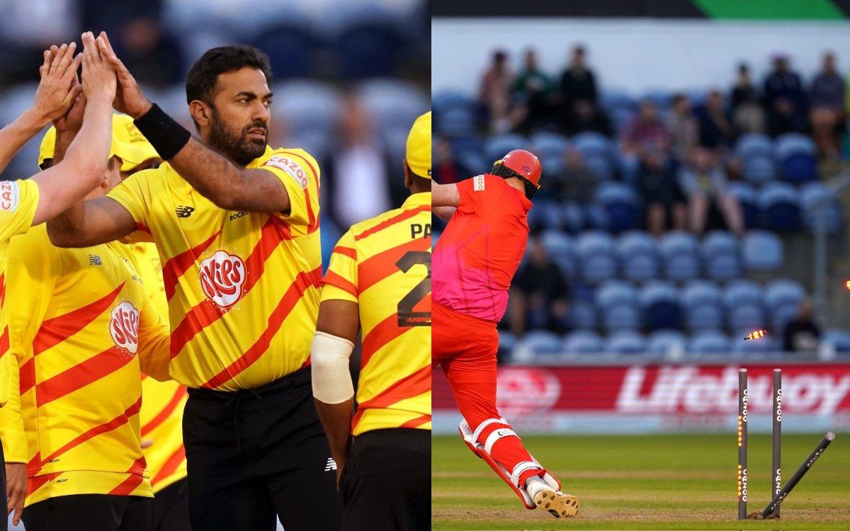 Cricket Image for VIDEO : वहाब रियाज़ का 'The Hundred' में धमाल, पहले ही मैच में चटकाए चार विकेट