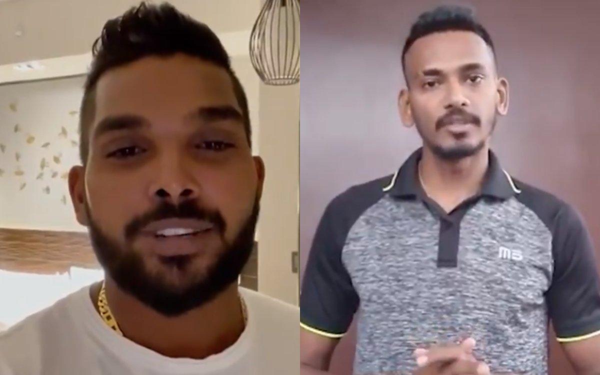 Cricket Image for VIDEO: 'धूम-धड़ाके के लिए तैयार हो जाइए', हसरंगा और चमीरा ने दिया RCB फैंस को स्पे